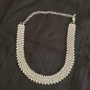 Necklace Swarovski crystals